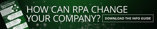 Download our info guide to learn how RPA can change your company